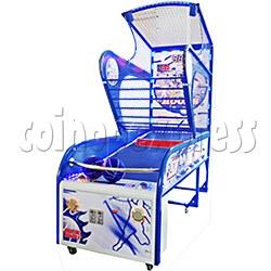 Shooting Hoops 5 Basketball Machine