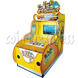 Crazy Animals ball game machine 37 inch monitor