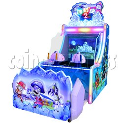 Ice Man II Water Shooter Ticket Redemption Arcade Machine
