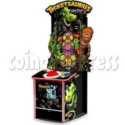 Ticketsaurus & Rex 43 inch Ticket Redemption Machine