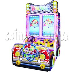Crazy Racing Video Driving Game 2 Players