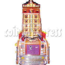 Rescue One Water Shooter Ticket Redemption Arcade Machine