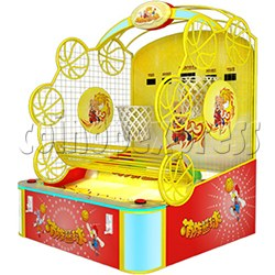 Twin Hoops Basketball Ticket Redemption Arcade Machine