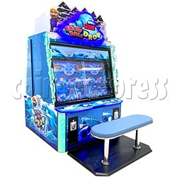 Snow Ball Drop Ticket Redemption Game Machine 4 Players