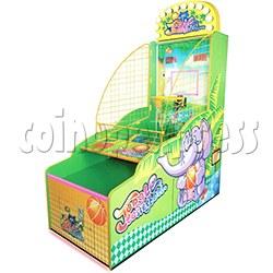 Jungle Basketball Ticket Redemption Machine Single Player Version