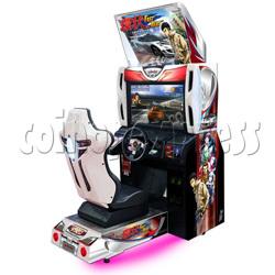 Fast Beat Loop Racer Racing Game Machine