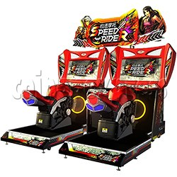 Speed Rider 2 Twin Racing Game Machine