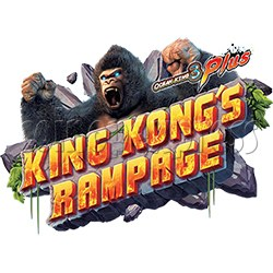 IGS Ocean King 3 Plus: King Kong's Rampage Full Game Board Kit
