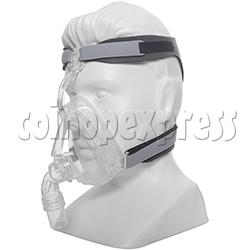 Medical Durable Sleep Apnea Comfort Gel Full Face CPAP Nasal Mask With Headgear Strap  (CE Certificate)