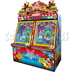 Carnival Circus Coin Pusher Ticket machine