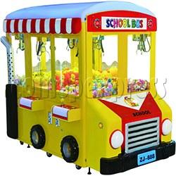 School Bus Crane Machine 6 players