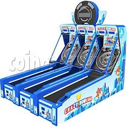 Crazy Bowling Ticket Redemption Machine 3 players