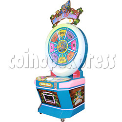 Magic Wheel Ticket Redemption Machine