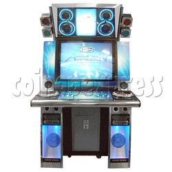 EZ2DJ Azure Expression Game Machine - Arcade Version