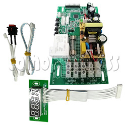 Coin Operated Timer Board with LED Display