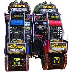 Nitro Trucks Racing Game Machine