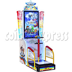 All Star Pogo Jumping Racing Sport Game Machine