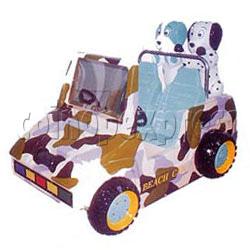 Colour Beach Car Kiddie Ride