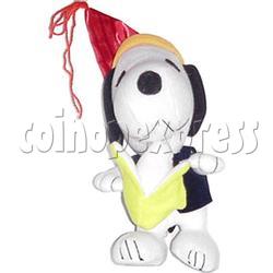 White Dog with Banana