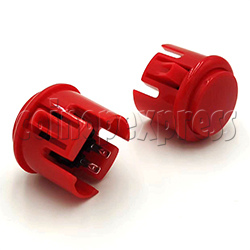 30mm Round Momentary Contact Push Button with Clipper
