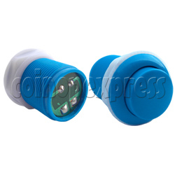 33mm Round Convex Push Button with PCB (welded)