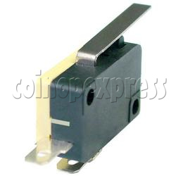 Microswitch with Auxiliary Actuator