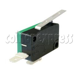 2 Terminals Microswitch with Auxiliary Actuator