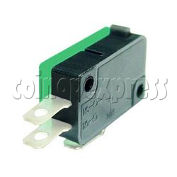 3 Terminals Button Actuator Micro Switch