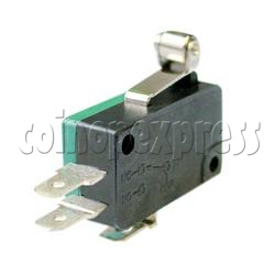 Microswitch with Roller Actuator