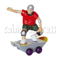 Remote Control Swirl Skateboarder