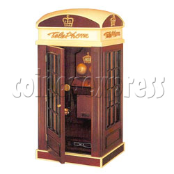 Phone Booth Radio Cassette Jukebox -1