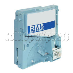 Electronic Coin Mechanisms RM5 Evolution Series G Version - Vertical Insertion & Rejection