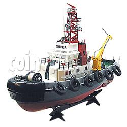 Remote Control Naval Vessel