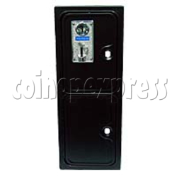 Coin Door for Horizontal Coin Mechanism