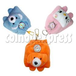 Animal head bag watches