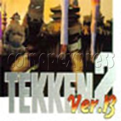 Tekken 2 Version B Arcade Game PCB