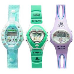 PVC Children Sport Watches