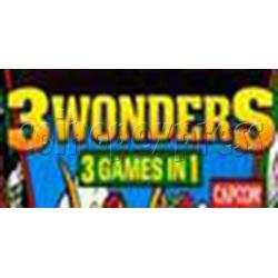 Three Wonders Arcade Game Board Faulty
