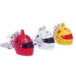 Crash Helmet Key Rings