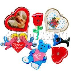 Valentine's Flashing Pins