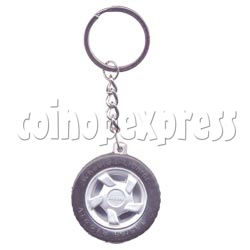 Wheel Light-up Key Rings