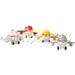 Mini Plane Light-up Key Rings