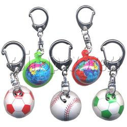 Small Sports & Sphere Key Rings