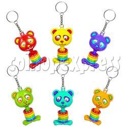 Spring Bear Key Rings