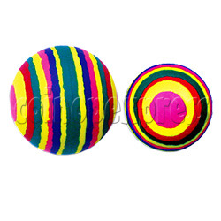 Round Color Stripes Ball