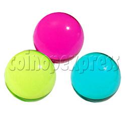 Clear Plain Colored Ball