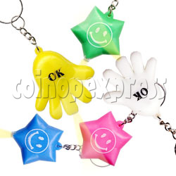 Colorful Torch Key Rings