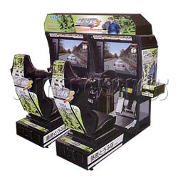 Initial D' Arcade Stage Version 3 (Twin)