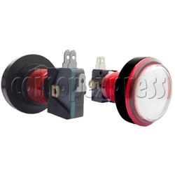 46mm Round Illuminated Push Button (color body)
