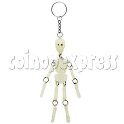 Skeleton Keychains